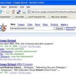 Google Indent Glitch?