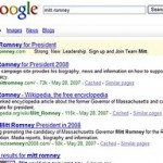 Google Experimenting With Blogs Button in Main Search Results