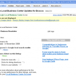 Google Local Business Center Results Emailed to Random Business Leaders?